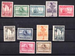 GUINEA  1929 EDIFIL Nº 191/201.EXPO SEVILLA-BARCELONA  .NUEVO CON CHARNELA  SES505GRANDE - Guinea Española