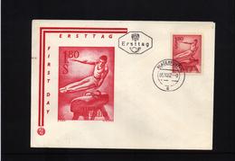 Oesterreich / Austria 1962 Gymnastics FDC (1)