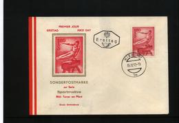 Oesterreich / Austria 1962 Gymnastics FDC (2)