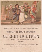 CHROMOS. Chocolat  GUERIN-BOUTRON.  Le Mariage, Sortie De L'église....E809 - Guerin Boutron