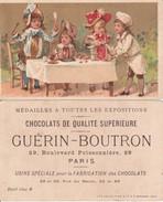 CHROMOS. Chocolat  GUERIN-BOUTRON.  A La Santé Du Cuisinier,! ....E810 - Guerin Boutron