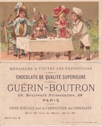 CHROMOS. Chocolat  GUERIN-BOUTRON.  A La Santé Du Cuisinier,! ....E810 - Guérin-Boutron