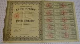 Le Fil Soyeux à Lyon - Textile