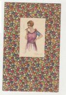 BOMPARD  - GLAMOUR WOMAN & CIGARETTE - N. 506/2 - 1910s ( 162 ) - Künstlerkarten