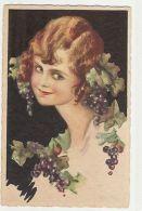 CHIOSTRI - GIRL & GRAPES - EDIT BALLERINI & FRATINI - N.355 - 1910s ( 138 ) - Illustrateurs & Photographes