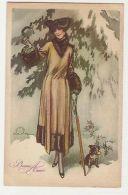 TERZI - GLAMOUR WOMAN & DOG - N. 559/3 - 1910s ( 122 ) - Illustrateurs & Photographes