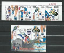 El Salvador 2008 Olympic Games - Beijing, China.stamps Strip Of 4 And S/S.MNH - Salvador