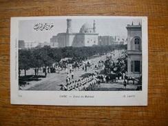 "Carte Assez Rare , Egypte , Caire , Envoi Du Mahmal "" Carte Animée """" - Caïro"