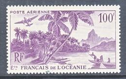 FRENCH  OCEANIA  C 18   * - Oceania (1892-1958)