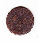 FRANCE KM 72.1,  LOUIS XIII,  1632A. (5BP5) - 987-1789 Monnaies Royales