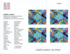 Colombia 2005 YT 1345 ** MP 50 Años De La Union Latina. See Desc. - Colombia