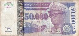 ZAIRE   50,000 Nouveaux Zaires   30/01/1996   Sign.11   HdMZ   P. 75 - Zaïre
