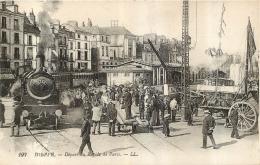 DIEPPE  DEPART DU RAPIDE DE PARIS - Dieppe