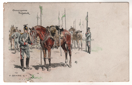 Nr. 8484,  Feldpost, Pferd Und Reiter - Guerre 1914-18