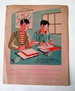 PROTEGE CAHIER RHUM NEGRITA ECOLE DATES HISTOIRE FLEUVES FRANCAIS MODELES ECRITURE DEPARTEMENTS Circa 1960 M.P. MARC - Buvards, Protège-cahiers Illustrés