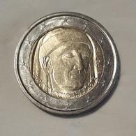 2 EUROS ITALIA 2013   700 Aniv.nacimiento Boccaccio 1313-2013  Estado:  Circulada  BC - Italia