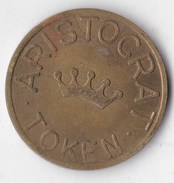 Jeton Aristocrat Token                                                                 Indice De Rareté Numista : 94 - United Kingdom