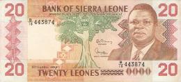 SIERRA LEONE   20 Leones   27/4/1988   P. 16 - Sierra Leone