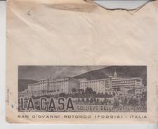 S. Giovanni Rotondo Foggia Padre Pio Busta + Lettera 1967 Timbro Rosso Ema - 6. 1946-.. Repubblica