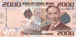 SIERRA LEONE   2000 Leones   27/4/2010   P. 31   UNC - Sierra Leone