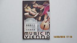 MUSIC IN VIENNA / 1936 / BOARD FOR TOURIST TRAFFIC / COVER DESIGN BY MAYER-MARTON; - Dépliants Touristiques