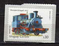 Uruguay 2004 Steam Locomotive.Transportation/Railways/Locomotives.self - Advesive Stamp.MNH - Uruguay