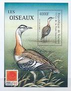 MDB-BK5-049-2 MINT - POSTFRIS ¤ GUINEE 2002 BLOCK ¤ - VÖGEL - BIRDS - VOGELS - OISEAUX - AVES -