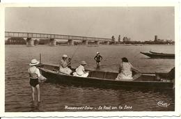 MAUVES SUR LOIRE, Le Pont, Pêche à La Ligne - Mauves-sur-Loire