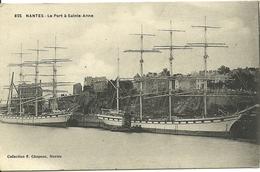 NANTES, Le Port à Sainte Anne, Beaux Voiliers - Nantes