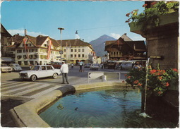 Dornbirn: FIAT  1500, VW T1-'SAMBA' BUS & 1200 KÄFER/COX, OPEL REKORD-A, VAUXHALL VICTOR FB, POLIZEI -Markt (Österreich) - Toerisme