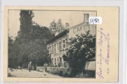 CPA- 57 - Amanvillers - Café à Identifier En Période Allemande ( 2 Scans) - France