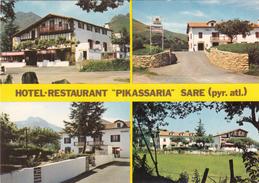 """G , Cp , HÔTELS & RESTAURANTS , Hôtel-Restaurant """"PIKASSARIA"""" , SARE , 64 - Hoteles & Restaurantes"""
