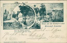 AK Neustadt Haardt Schöntal, Kielhöfer'sche Wirtschaft, O 1901, Ecken Mit Druckstellen Vom Album (5585) - Neustadt (Weinstr.)