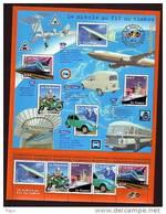 2002-BLOC N°47** TRANSPORTS - Ongebruikt