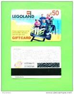 UK - Magnetic Gift Card/Legoland £50 - Andere Sammlungen