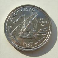 Lp PORTUGAL - 1987 - 100 Escudos - Nuno Tristão - Golden Age Of Portuguese Discoveries - Portugal