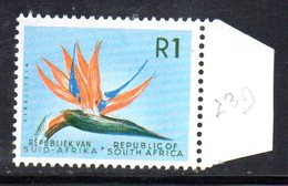 R417 - SOUTH SUD AFRICA  1964 , 1 Rand  Yvert N. 290    ***  1mo Tipo Dent 14 Fil RSA - Sud Africa (1961-...)