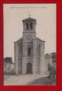 1 Cpa Saint Christophe De Chalais  L Eglise - Otros Municipios