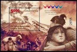 INDONESIE 2015 - Nations Unies, Conférance Mondiale Sur Les Risques Et Catastrophes Naturelles - BF Neufs // Mnh - Indonésie