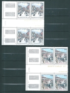 Monaco Timbres De 1984  N°1433/34   Coins Datés Neufs ** - Neufs