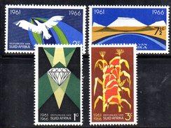 R486 - SOUTH SUD AFRICA  1966 ,   Yvert Serie N. 298/301    ***  SUID AFRIKA - Sud Africa (1961-...)