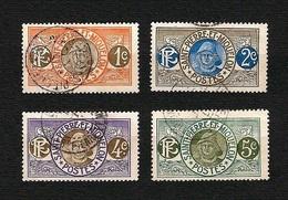 St.PIERRE & MIQUELON 1909 - Fisherman - 1,2,3,4 C. - Yv:PM 78-81 - St.Pierre & Miquelon