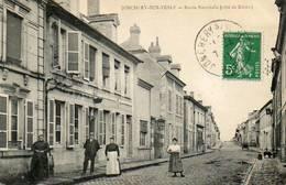 CPA - JONCHERY-sur-VESLE (51) - Aspect De La Route Nationale En Direction De Reims En 1911 - Jonchery-sur-Vesle