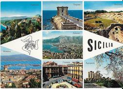 SICILIA - VARIE VEDUTE - EDIZ. S.A.F. MILANO - NUOVA NV - Sin Clasificación