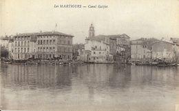 Les Martigues (Bouches-du-Rhône) - Canal Galifet, Port - Carte Non Circulée - Martigues