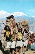 Népal. A Typical Nepalese Landscape. - Népal
