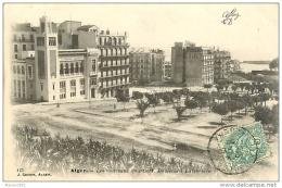 ALGERIE. ALGER - LES NOUVEAUX QUARTIER BOULEVARD LAFERRIERE - Algerien