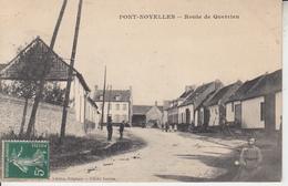 PONT NOYELLES - Route De Querrieu  PRIX FIXE - France
