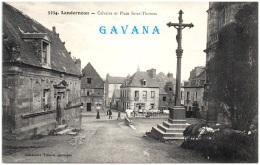29 LANDERNEAU - Calvaire Et Place Saint-Thomas    (Recto/Verso) - Landerneau
