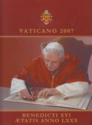 VATICANO 2007 - LIBRO UFFICIALE DI TUTTE LE EMISSIONI NUOVE - Vatican